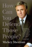 How Can You Defend Those People  PDF