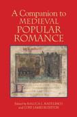 A Companion To Medieval Popular Romance