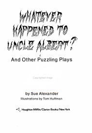 Whatever Happened to Uncle Albert  PDF
