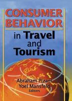 Consumer Behavior in Travel and Tourism PDF