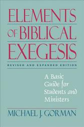 Elements of Biblical Exegesis