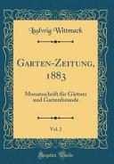 Garten Zeitung 1883 Vol 2