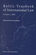 Baltic Yearbook of International Law 2002 PDF