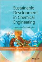 Sustainable Development in Chemical Engineering PDF