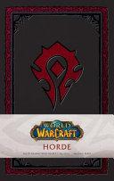 World of Warcraft  Horde Hardcover Ruled Journal