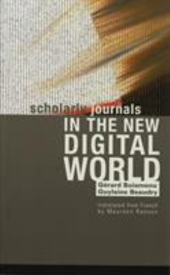 Scholarly Journals in the New Digital World PDF