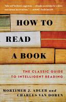 How to Read a Book PDF