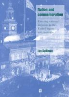 Nation and Commemoration PDF