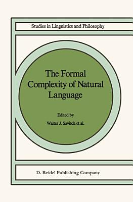 The Formal Complexity of Natural Language