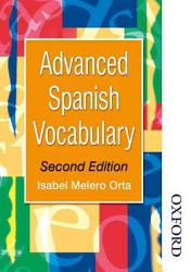 Advanced Spanish Vocabulary Book PDF