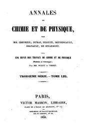 Annales de chimie et de physique: Volume 53