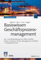 Basiswissen Gesch  ftsprozessmanagement PDF