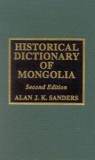 Historical Dictionary of Mongolia PDF