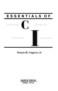 Essentials of Discipleship