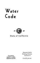 Water Code, 1955