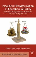 Neoliberal Transformation of Education in Turkey PDF