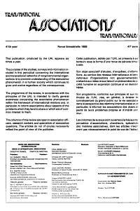 Associations Transnationales PDF
