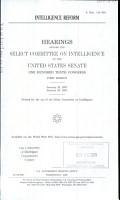 Intelligence Reform PDF
