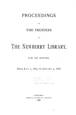 Report of the Trustees of the Newberry Library PDF