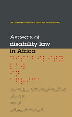 Aspects of Disalibility Law in Africa