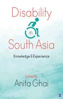 Disability in South Asia PDF