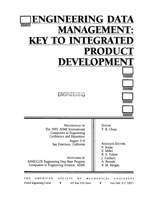 Engineering Data Management