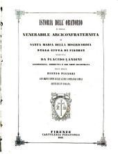 Istoria dell'Oratorio e della venerabile arciconfraternità di Santa Maria della Misericordia della città di Firenze