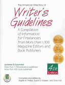 The American Directory of Writer s Guidelines