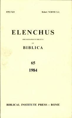Elenchus  Vol  65 PDF