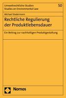 Rechtliche Regulierung der Produktlebensdauer PDF