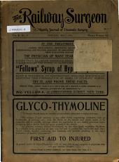 The Railway Surgeon: Volume 10, Issue 12