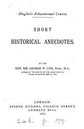 Short historical anecdotes