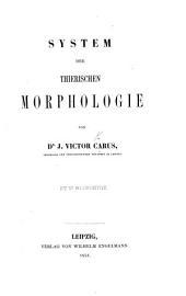 System der thierischen Morphologie, etc