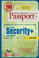 Mike Meyers  CompTIA Security  Certification Passport  Fifth Edition  Exam SY0 501  PDF