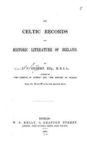 The Celtic Records and Historic Literature of Ireland: Pages 409-469