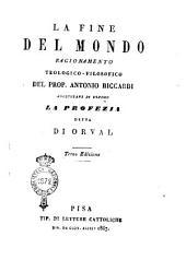 La fine del mondo ragionamento teologico-filosofico del prop. Antonio Riccardi