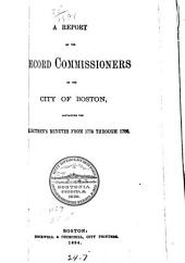 Records Relating to the Early History of Boston: Volume 25