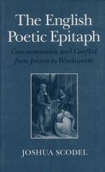 The English Poetic Epitaph