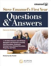 Steve Emanuel's First Year Questions and Answers: Edition 2