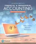 Horngren s Financial   Managerial Accounting  the Financial Chapters
