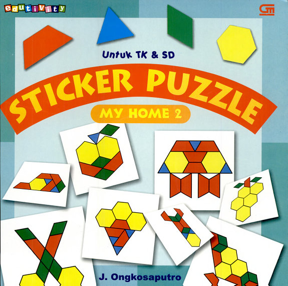 Sticker Puzzle: My Home 2