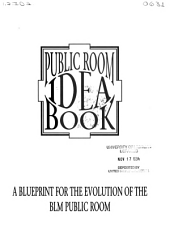 Public room idea book: a blueprint for the evolution of the BLM public room