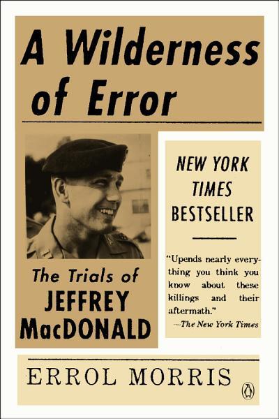 Download A Wilderness of Error Book
