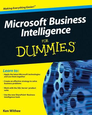 Microsoft Business Intelligence For Dummies PDF