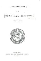 Transactions and Proceedings: Volumes 17-18