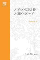 Advances in Agronomy: Volume 15