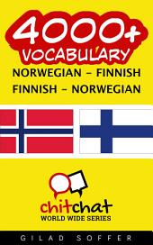4000+ Norwegian - Finnish Finnish - Norwegian Vocabulary