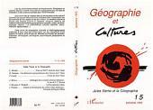 Géographie et cultures n°15: Spécial Jules Verne
