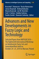 Advances and New Developments in Fuzzy Logic and Technology PDF