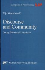 Discourse and Community